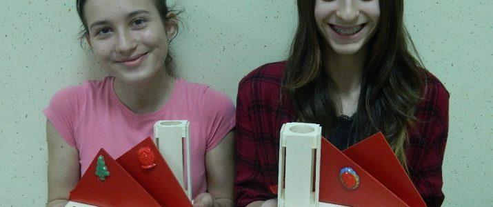 Tehniški dan v 7. razredu – izdelava stojala za pisala