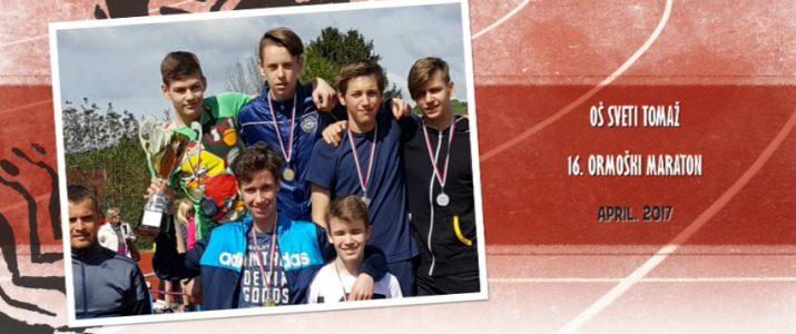 16. ormoški maraton